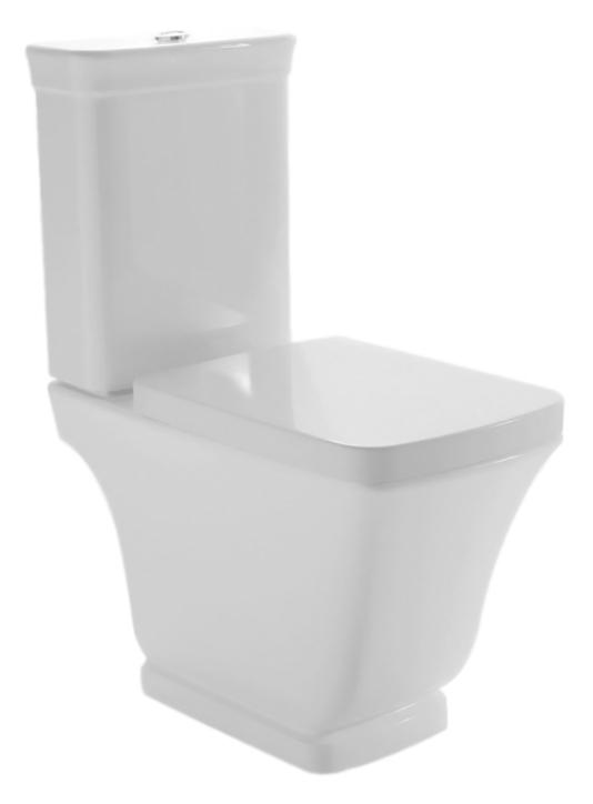 Relais RE003 bianco lucidoУнитазы<br>Унитаз напольный Globo Relais RE003 белый глянцевый, универсальный выпуск. Дизайн унитаза коллекции Relais выражает виденье современной ванной комнаты в полной гармонии функциональности и эстетики. Изделие сохраняет стиль прошлого, и в тоже время футуристически интерпретировано, сопровождается чистыми и строгими формами, навевая желание простоты и ясности. В комплекте поставки: чаша унитаза и комплект креплений к полу.<br>