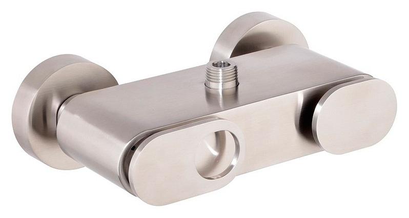 BUTTERFLY-DM-04 ХромСмесители<br>Смеситель однорычажный Cezares BUTTERFLY-DM-04 для душа с керамическим картриджем , с 2 отверстиями для монтажа , а также с эксцентриками и дивертором. Цвет исполнения - хром.<br>