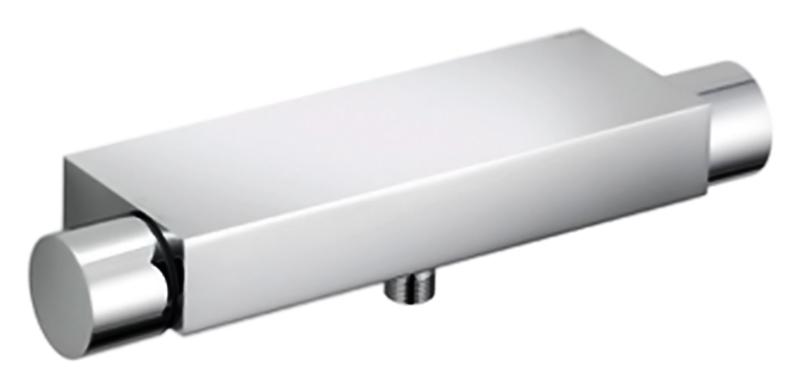 Edition 11 51126 010100 хромСмесители<br>Термостат для душа Keuco Edition 11 51126 010100 без душевого гарнитура. Рукоятка с 50% ограничением потока воды, защитная блокировка при 38°, штихмас 150 +/- 14 мм, с обратным клапаном, подходит для проточных водонагревателей. Цена указана за смеситель. Все остальное приобретается дополнительно.<br>