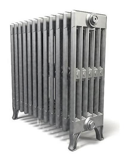 Verdun 470 x15Радиаторы отопления<br>Стоимость указана за 15 секций. Чугунный секционный радиатор RETROstyle Verdun 470 610x750x218 мм с боковым подключением. Межосевое расстояние - 470 мм. Радиаторы поставляются покрытые грунтовкой выбранного цвета. Дополнительно могут быть окрашены в один из цветов палитры RAL (глянец), NCS (матовый), комбинированный (основной цвет + акцент на узорах), покраска с патинацией (old gold; old silver, old cupper) и дизайнерское декорирование. Установочный комплект приобретается дополнительно.<br>