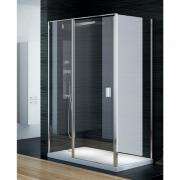 Душевой уголок New Trendy Perfecta Platinum 100x80 EXK-1169/EXK-1188 - фото