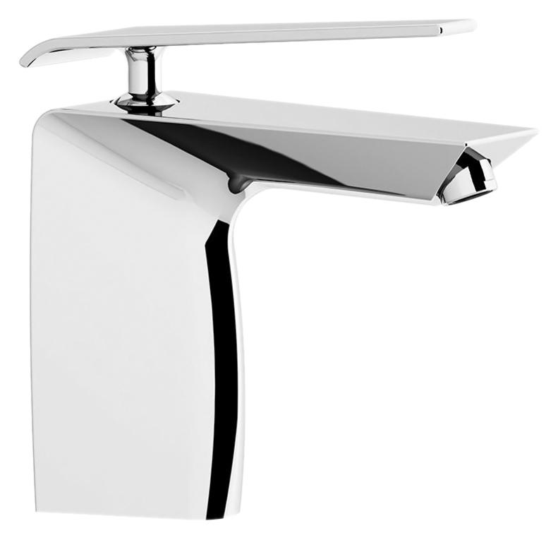 Boomerang 4542 хромСмесители<br>Смеситель для раковины Gattoni Boomerang 4542 эксклюзивной формы, однорычажный, со встроенным фильтром. Цена указана за смеситель и гибкую подводку. Все остальное приобретается дополнительно.<br>