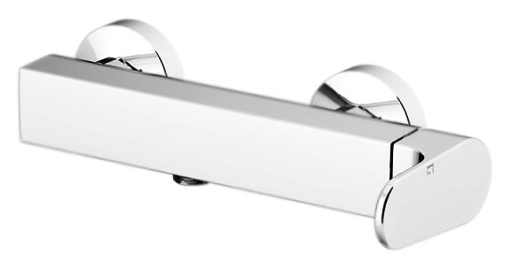 H2Omix1000 1025 хромСмесители<br>Смеситель для душа Gattoni H2Omix1000 1025 однорычажный, ручка справа, вывод для шланга снизу.<br>