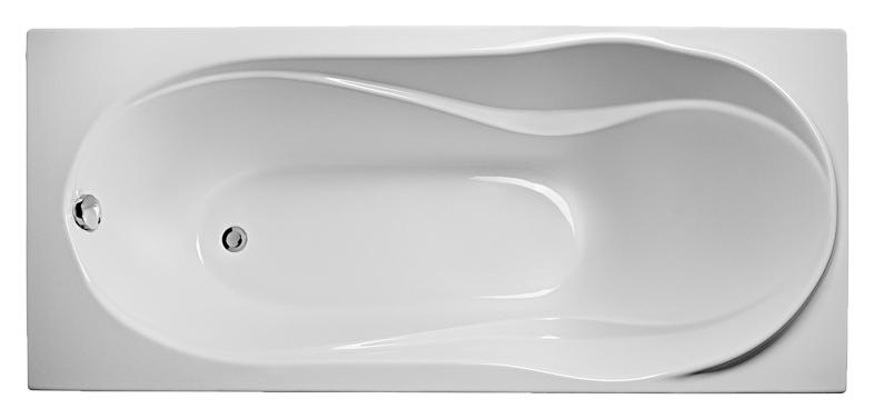 Оливия 180х80 EUR0009 БелаяВанны<br>Ванна акриловая Eurolux Оливия 180х80 EUR0009 белая прямоугольная. Размеры 1800x800x670 мм. Глубина 500 мм. Объем 280 л.<br>