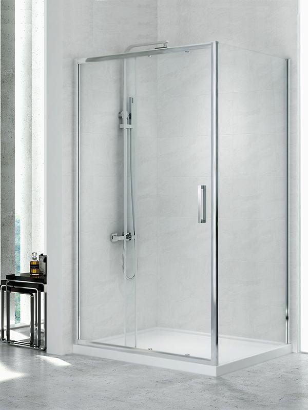 Corrina Gold 120x80 D-0090A/D-0078B 120x80x195 смДушевые ограждения<br>Душевая шторка New Trendy New Corrina D-0090A/D-0078B прямоугольная пристенная, двери одинарные, распашные. Дверь универсальная левая и правая. Стекло толщиной 6mm, покрытие Active Shield (защита от осаждения камня и других загрязнений на стекле).<br>