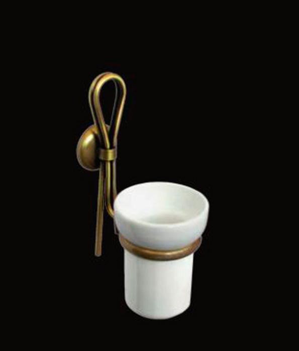 Merilyn LUX-MER-EL114-BR ЗолотоАксессуары для ванной<br>Стакан для зубных счёток Sturm Merilyn LUX-MER-EL113-GL подвесной. Цвет изделия – золото.<br>