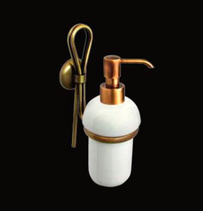 Merilyn LUX-MER-EL314-BR ЗолотоАксессуары для ванной<br>Дозатор для мыла Sturm Merilyn LUX-MER-EL313-GL подвесной. Цвет изделия – золото.<br>