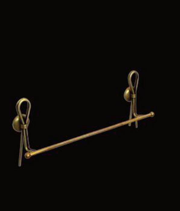 Merilyn LUX-MER-EL814-BR ЗолотоАксессуары для ванной<br>Полотенцедержатель Sturm Merilyn LUX-MER-EL814-BR подвесной. Цвет изделия – золото.<br>