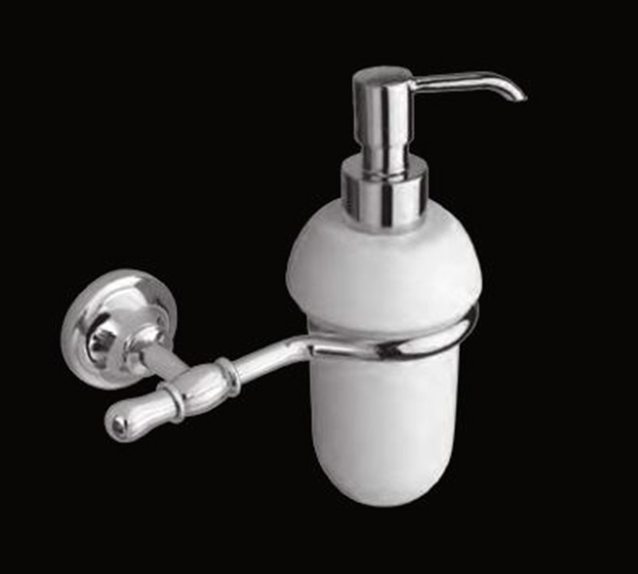 Jacklyn LUX-JAC-CA310-CR ХромАксессуары для ванной<br>Дозатор для мыла Sturm Jacklyn LUX-JAC-CA310-CR подвесной. Цвет изделия - хром.<br>