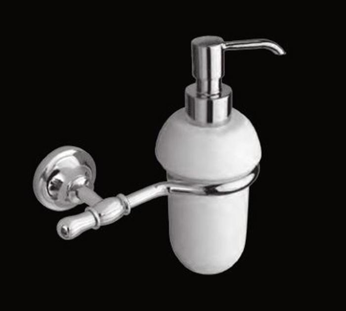Jacklyn LUX-JAC-CA310-CR БронзаАксессуары для ванной<br>Дозатор для мыла Sturm Jacklyn LUX-JAC-CA314-BR подвесной. Цвет изделия – бронза.<br>