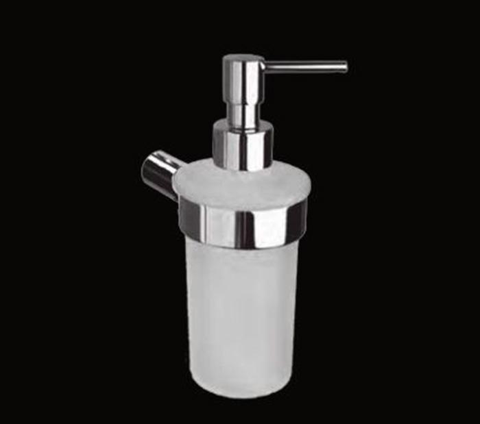 Kylie LUX-KYL-PS310-CR ХромАксессуары для ванной<br>Дозатор для мыла Sturm Kylie LUX-KYL-PS310-CR подвесной. Цвет изделия – хром.<br>