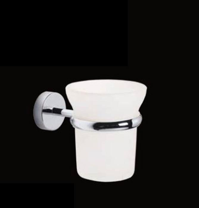 Milly LUX-MIL-OT110-CR ХромАксессуары для ванной<br>Стакан для зубных щёток Sturm Milly LUX-MIL-OT110-CR подвесной. Цвет изделия – хром.<br>