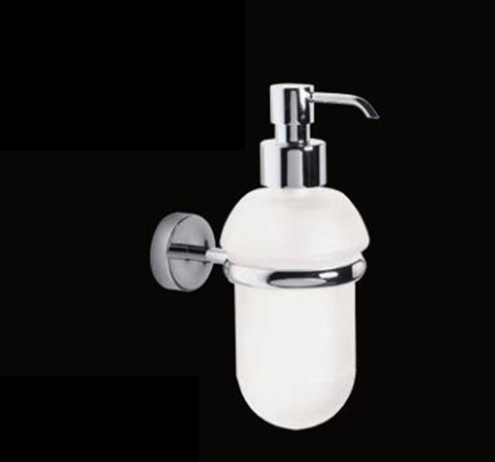 Milly LUX-MIL-OT310-CR ХромАксессуары для ванной<br>Дозатор для мыла Sturm Milly LUX-MIL-OT310-CR подвесной. Цвет изделия – хром.<br>