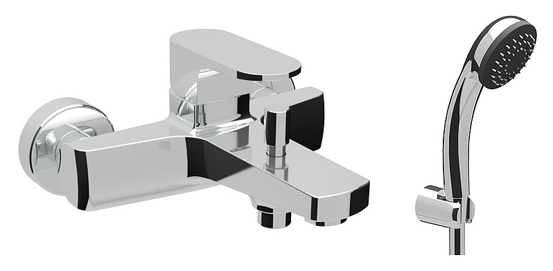 Air ST-AIR-13060-CR ХромСмесители<br>Смеситель Sturm Air ST-AIR-13060-CR встраиваемый с керамическим картриджем и ручным душем с металическим шлангом 150см.Цвет изделия – хром.<br>
