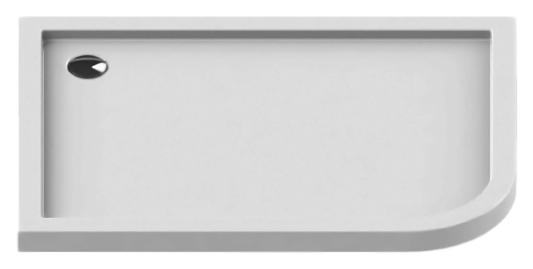 Arena Silver 120x90 B-0263 белый, в левый уголДушевые поддоны<br>Интегрированный душевой поддон New Trendy Arena Silver 120x90 B-0263 слив слева, из качественного акрила. Основание поддона пол. Высокая прочность на нагрузку. Диаметр сливного отверстия 90 мм. Безопасный и комфортный в использовании. Цена указана за поддон. Сифон и все остальное приобретается дополнительно.<br>
