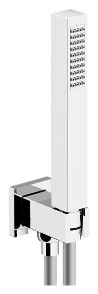 Programma Docce KTQ01/PD хромДушевые гарнитуры<br>Душевой гарнитур Gattoni Programma Docce KTQ01/PD с ABS ручным душем, латунным держателем для душа и гибким шлангом 1500 мм. Цена указана за шланг, держатель для душа и ручной душ. Все остальное приобретается дополнительно.<br>