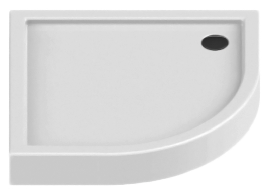 Columbus Silver 80 B-0316 белыйДушевые поддоны<br>Душевой поддон New Trendy Columbus Silver 80 B-0316 формой четверть круга, из качественного акрила, на пенополистироловом носителе. Пенополистирол обладает хорошими звукоизолирующими свойствами, благодаря которым эффективно заглушается шум падающей воды. Высокая прочность на нагрузку. Диаметр сливного отверстия 90 мм. Безопасный и комфортный в использовании. Интегрированная фронтальная панель. Цена указана за поддон и панель. Сифон и все остальное приобретается дополнительно.<br>