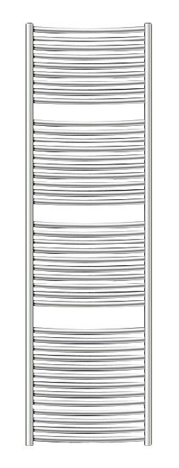 Электрический полотенцесушитель Zehnder Janda JAE-180-060/DD Нержавеющая сталь недорого