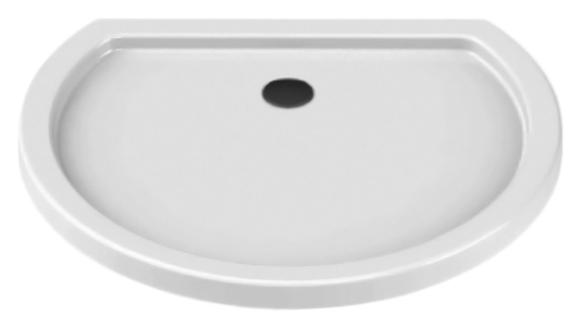 Rondo Silver Ultra 100x85 B-0157 белыйДушевые поддоны<br>Душевой поддон New Trendy Rondo Silver Ultra 100x85 B-0157 из качественного акрила, на пенополистироловом носителе. Пенополистирол обладает хорошими звукоизолирующими свойствами, благодаря которым эффективно заглушается шум падающей воды. Высокая прочность на нагрузку. Диаметр сливного отверстия 90 мм. Безопасный и комфортный в использовании. Цена указана за поддон. Сифон и все остальное приобретается дополнительно.<br>