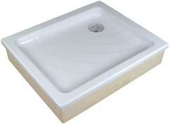 Aneta EX  белый 75Душевые поддоны<br>Акриловый прямоугольный поддон Ravak Aneta EX. Самонесущий, для облицовки кафелем.<br>