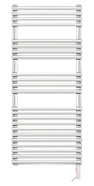 Forma Spa LFE-120-050/DD БелыйПолотенцесушители<br>Электрический полотенцесушитель Zehnder Forma Spa LFE-120-050/DD. Цвет - белый Ral 9016. Электропатрон DBM устанавливается в правый коллектор снизу. Выборочно регулируемая температура, функция таймера, защита от сухого включения, комплектуется штекером. Монтажный комплект в цвет полотенцесушителя.<br>