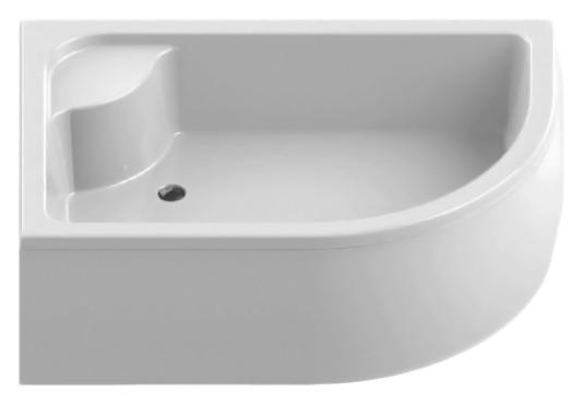 Maxima Silver 120x85 B-0167 белый, в левый уголДушевые поддоны<br>Высокий душевой поддон New Trendy Maxima Silver 120x85 B-0167 с сиденьем, из качественного акрила, на пенополистироловом носителе. Для установки в левый угол. Пенополистирол обладает хорошими звукоизолирующими свойствами, благодаря которым эффективно заглушается шум падающей воды. Высокая прочность на нагрузку. Диаметр сливного отверстия 52 мм. Безопасный и комфортный в использовании. Съемная фронтальная панель (не включена в состав базовой комплектации). Цена указана за поддон. Сифон, панель и все остальное приобретается дополнительно.<br>