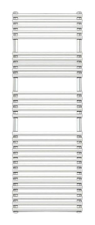 Forma Spa LF-150-060 БелыйПолотенцесушители<br>Водяной полотенцесушитель Zehnder Forma Spa LF-150-060 для установки только в закрытых системах отопления. Однорядный, подключение по краям. Цвет - белый Ral 9016. Монтажный комплект в цвет полотенцесушителя.<br>