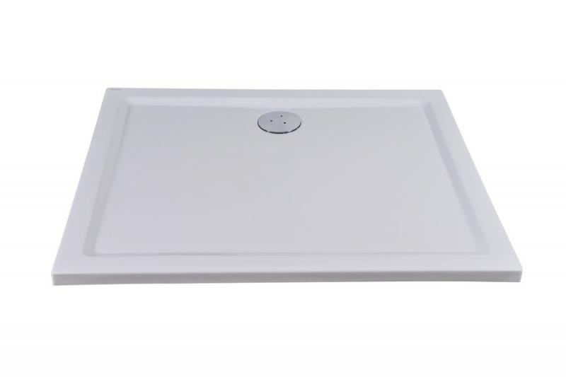 Gigant 100х80 БелыйДушевые поддоны<br>Душевой поддон Gigant акриловый, прямоугольный. Цвет изделия - белый.<br>