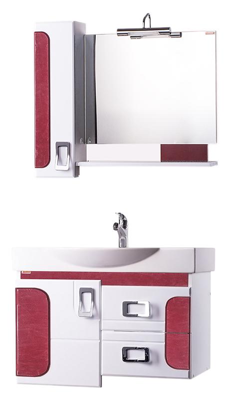 Фьюжн 76 Огни Нью-ЙоркаМебель для ванной<br>Тумба с раковиной Bestex Фьюжн 76 с четкими геометрическими формами интересной дизайнерской задумки, с двумя выдвижными ящиками с плавным закрыванием и доводчиком, а так же дверцей с плавным закрыванием, и декоративными накладками на фасаде. Универсальный умывальник шириной 76 см, отличающийся хорошим водоизмещением и компактностью. Цена указана за тумбу и раковину Edelform Signo 76. Все остальное приобретается дополнительно.<br>