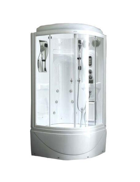 Душевая кабина Aqualux F128 Белая