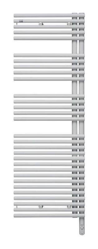 Forma Asym LFAER-170-60/DD Белый левыйПолотенцесушители<br>Электрический полотенцесушитель Zehnder Forma Asym LFAEL-170-60/DD левый - белый Ral 9016. Встроенный электропатрон DBM с ручной регулировкой белого цвета. Монтажный комплект в цвет полотенцесушителя.<br>
