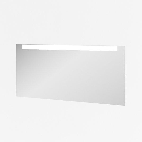 Clear 1000 Зеркало с подсветкойМебель для ванной<br>Зеркало для ванной Clear 1000 с горизонтальной подсветкой в верхней части, навесное, пристенное.<br>