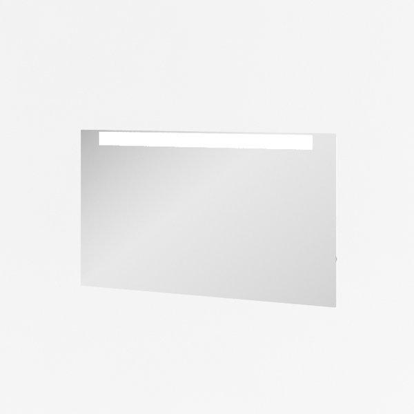 Clear 800 Зеркало с подсветкойМебель для ванной<br>Зеркало для ванной комнаты Clear 800 с горизонтальной подсветкой в верхней части, навесное, пристенное.<br>