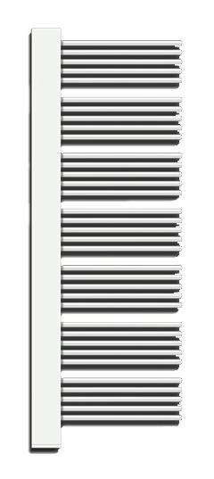Yucca Cover YPE-150-60/YD Белый правыйПолотенцесушители<br>Электрический полотенцесушитель Zehnder Yucca Cover YPER-150-60/YD правый, с декоративной крышкой в цвет труб. Цвет - белый (RAL 9016). В комплект поставки входят: полотенцесушитель, электропатрон WIVAR с инфракрасным блоком дистанционного управления, декоративный кожух для электропатрона WIVAR в цвет, монтажный комплект в цвет полотенцесушителя.<br>