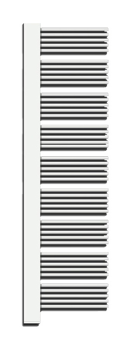 Yucca Cover YPE-180-60/YD Белый правыйПолотенцесушители<br>Электрический полотенцесушитель Zehnder Yucca Cover YPER-180-60/YD правый, с декоративной крышкой в цвет труб. Цвет - белый (RAL 9016). В комплект поставки входят: полотенцесушитель, электропатрон WIVAR с инфракрасным блоком дистанционного управления, декоративный кожух для электропатрона WIVAR в цвет, монтажный комплект в цвет полотенцесушителя.<br>