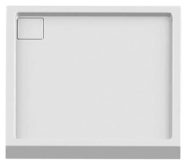 Lido Silver 80 B-0320 белыйДушевые поддоны<br>Интегрированный душевой поддон New Trendy Lido Silver B-0320 квадратный из качественного акрила. Основание поддона пол. Высокая прочность на нагрузку. Диаметр сливного отверстия 90 мм. Безопасный и комфортный в использовании. Цена указана за поддон. Сифон и все остальное приобретается дополнительно.<br>