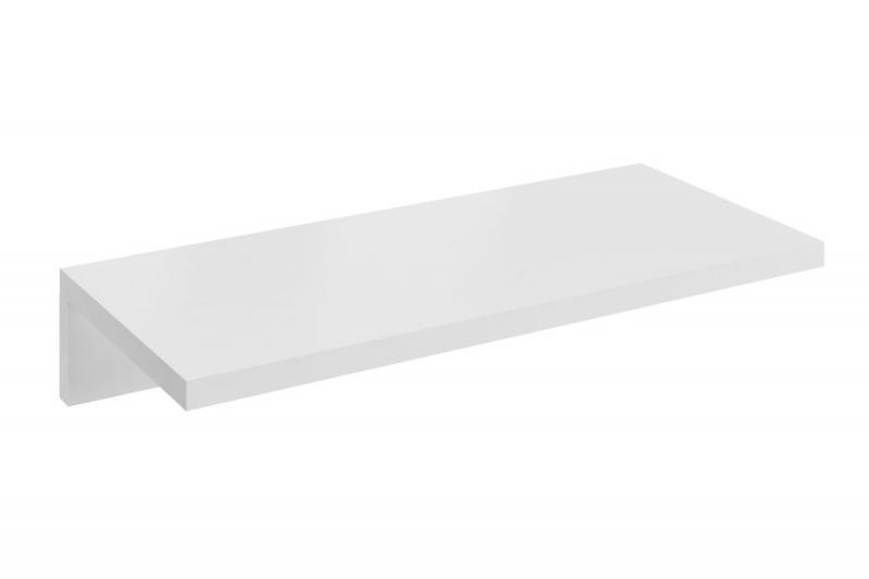 Formy L 800 ДубМебель для ванной<br>Столешница под раковину X000000833 Formy L 800. Исключительная по форме столешница предназначена под умывальники. Имеет специальную пропитку для максимальной устойчивости к влажной среде. Столешница предоставляет много свободного места для вещей. Цвет изделия - дуб.<br>
