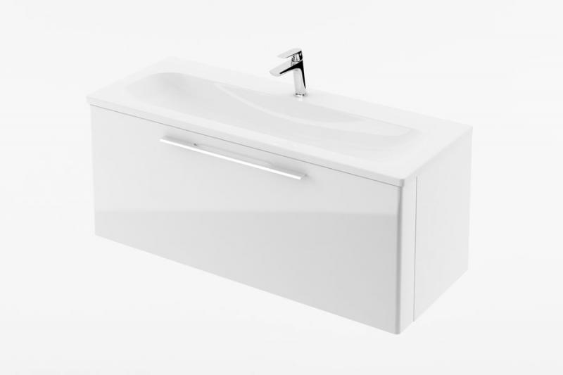 SD Ring 1000 серыйМебель для ванной<br>Тумба под раковину SD Ring 1000.Мебель Ring отличается от другой современной продукции своими горизонтальными линиями, которые гармонизируют ванную комнату и обеспечивают максимум свободного пространства для использования.Раковина и все дополнительные комплектующие приобретаются отдельно. Цвет изделия - серый.<br>