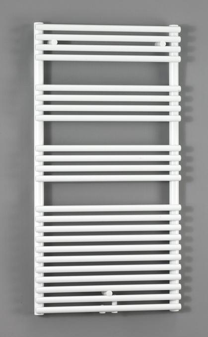 Forma Spa LFD-180-050-05 БелыйПолотенцесушители<br>Водяной полотенцесушитель Zehnder Forma Spa LFD-180-050-05. Для эксплуатации в закрытых системах отопления. Двухрядный, подключение по центру. Мощность 1299 Вт. Цвет - белый (RAL 9016). Монтажный комплект в цвет полотенцесушителя. Возможна эксплуатация в комбинированном режиме (отопление и электронагрев) для этого необходимо дополнительно приобрести электропатрон и переходники.<br>