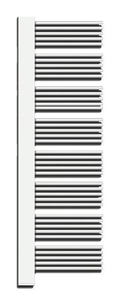 Yucca Cover YPR-180-60 Белый правыйПолотенцесушители<br>Водяной полотенцесушитель Zehnder Yucca Cover YPR-180-60 правый, с декоративной крышкой в цвет труб. Для эксплуатации в закрытых системах отопления. Мощность 805 Вт. Цвет - белый (RAL 9016). Монтажный комплект в цвет полотенцесушителя. Возможна эксплуатация в комбинированном режиме (отопление и электронагрев) для этого необходимо дополнительно приобрести электропатрон и переходники.<br>
