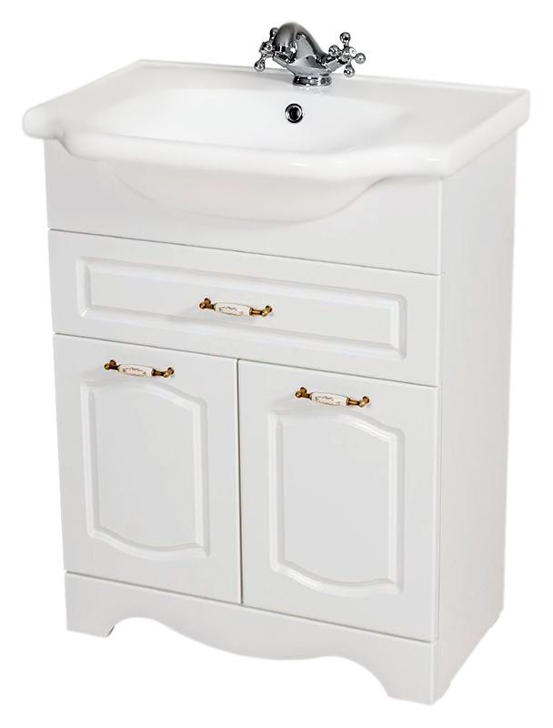 Классик 65 орех итальянскийМебель для ванной<br>Тумба с раковиной Аква Родос Классик 65, с двумя распашными дверцами, и одним вместительным выдвижным ящиком. Плавные изгибы декора дверок, рельефный низ - классические, воздушные формы, оживленные легкостью и изяществом стиля. Качественные материалы и комплектующие обеспечат Вам комфорт в пользовании мебелью. Цена указана за тумбу и раковину Классик 65. Все остальное приобретается дополнительно.<br>