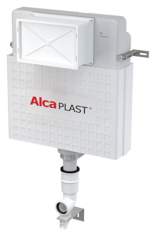 Basicмodul A112 БелыйИнсталляции<br>Бачок для унитаза Alcaplast Basicмodul A112 для замуровывания в стену. Двухрежимный слив воды. Объем смывного бачка 4/9 л. Монтируется в капитальную стену. Изготовлен из металла, обработанного порошковой краской.<br>