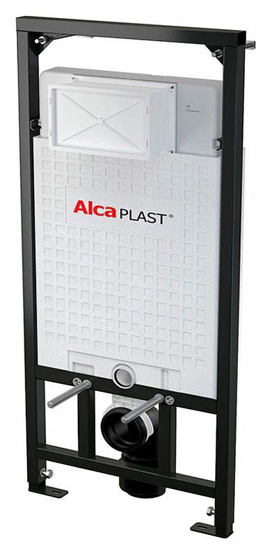 Sadromodul A101/1200 ЧерныйИнсталляции<br>Система инсталляции для унитазов AlcaPlast Sadromodul A101/1200. Метод крепления в пол, в капитальную стену, в некапитальную стену. Подвод воды сверху бачка. Монтажная высота 117 см. Монтажная глубина 20 см. Межосевое расстояние под крепежные шпильки 18, 23 см. Объем смывного бачка 6/9 л. Диаметр слива 9 см.<br>