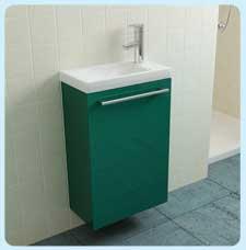 Мини в цвете RALМебель для ванной<br>Мини подвесная тумба под раковину в цвете RAL. В комплект поставки входит тумба под раковину.<br>