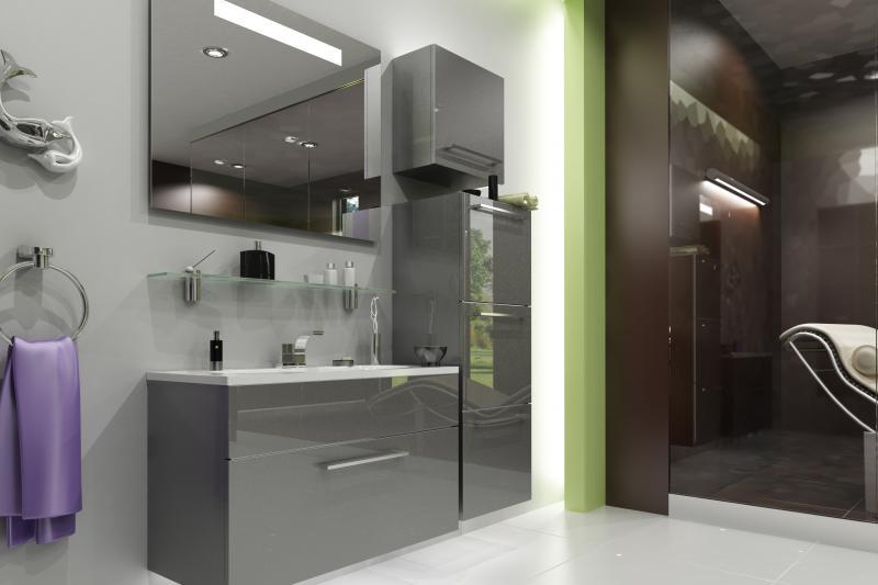 Кубика 90 чернаяМебель для ванной<br>De Aqua Кубика 90 Тумба под раковину. В тумбе один выдвижной ящик на доводчиках Blum. Стоимость указанна за тумбу без раковины и зеркала в черном цвете, дополнительно можете приобрести пеналы серии Тока.<br>