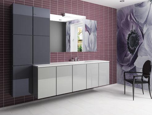 Купе в цвете RALМебель для ванной<br>Выдвижной ящик 200 Купе с корзиной.<br>