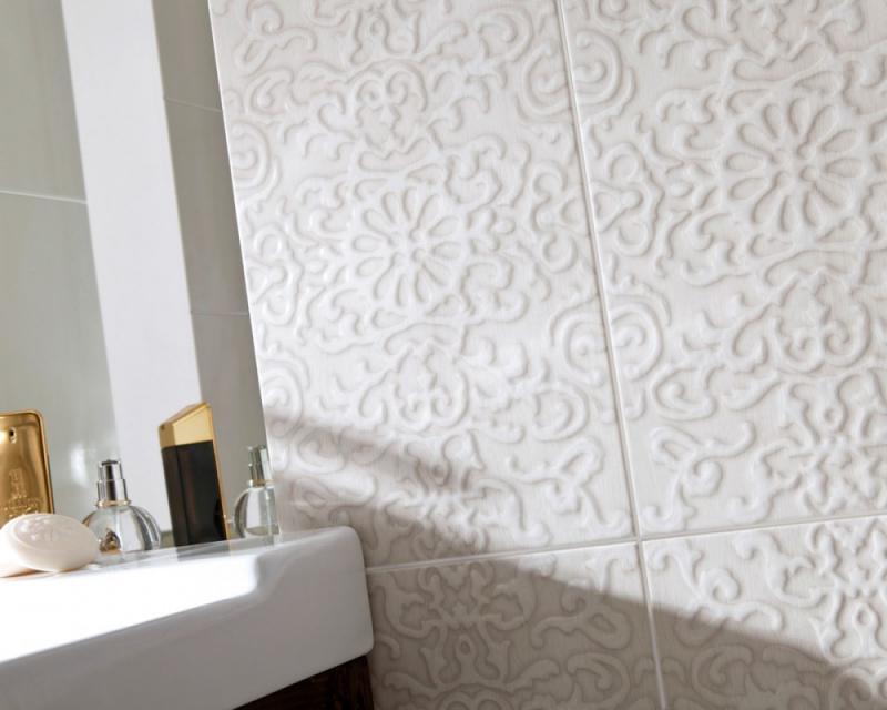 Керамическая плитка Ceramika Paradyz Tembre beige inserto 25x40 декор