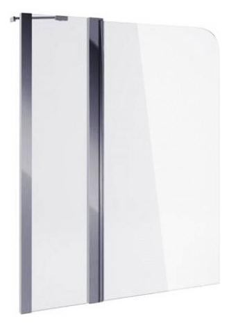 900 100 KAAC.DY-P2151E.1000CR Хром/ПрозрачныйДушевые ограждения<br>Шторка на ванну Excellent 900 100 KAAC.DY-P2151E.1000CR. Двухсекционная поворотная шторка для ванны. Диапазон движения 180°. Закаленное прозрачное стекло 6 мм. Профиль - хром. Водоотталкивающее покрытие CleanControl.<br>