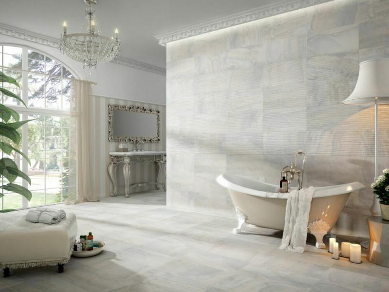 Керамическая плитка Gayafores Dubai Decor Pearl 32x62,5 керамогранит