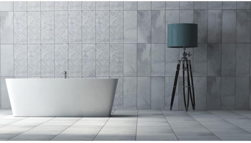 Керамическая плитка Keramika Modus Cement 25х60 настенная